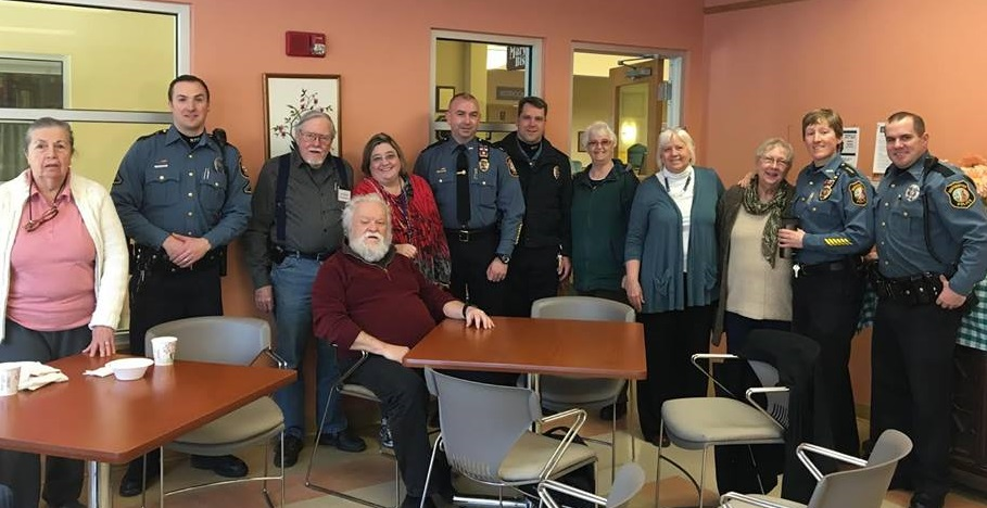 2017 Coffee with a Cop Senior Center